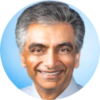 Lucky Jain, MD, MBA headshot