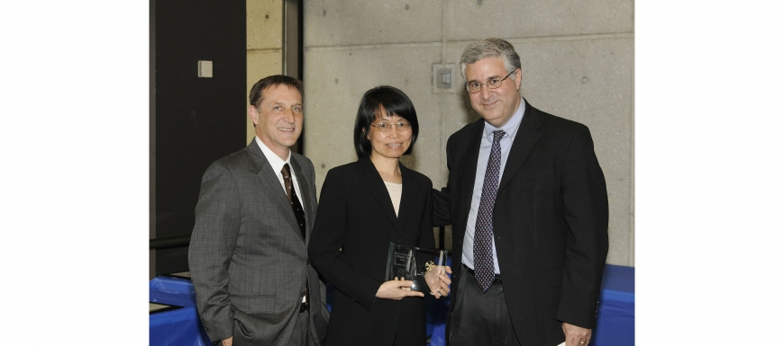 Dr. Chunhui Xu received the MilliPub Award - 2015 Carousel Photo
