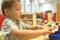 Atlanta preschool teaches autistic and 'typical' two-year-old's social skills thumbnail Photo