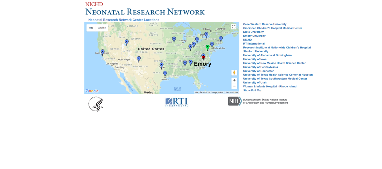 Neonatal Research Network Carousel Photo